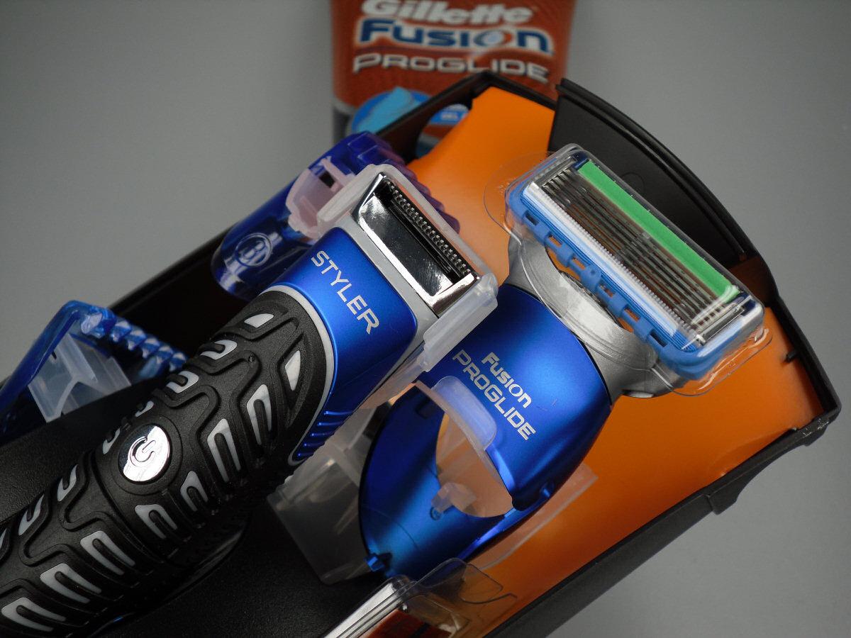 Rasierer-Test des Gillette Fusion ProGlide Styler
