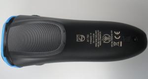 Rückseite des Philips Aqua Touch